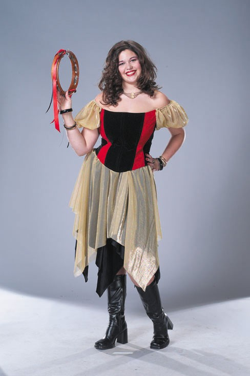 Adult Plus Size Gypsy Costume