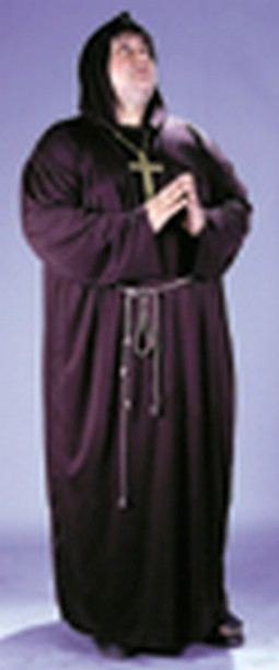 Adult Plus Size Monk Costume