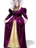 Adult Plus Size Queen Elizabeth Costume