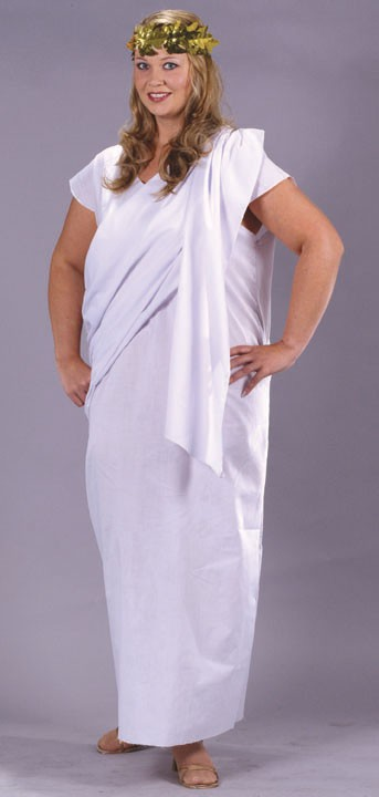 Adult Plus Size Toga Costume