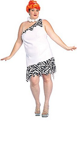 Adult Plus Size Wilma Flintstone Costume