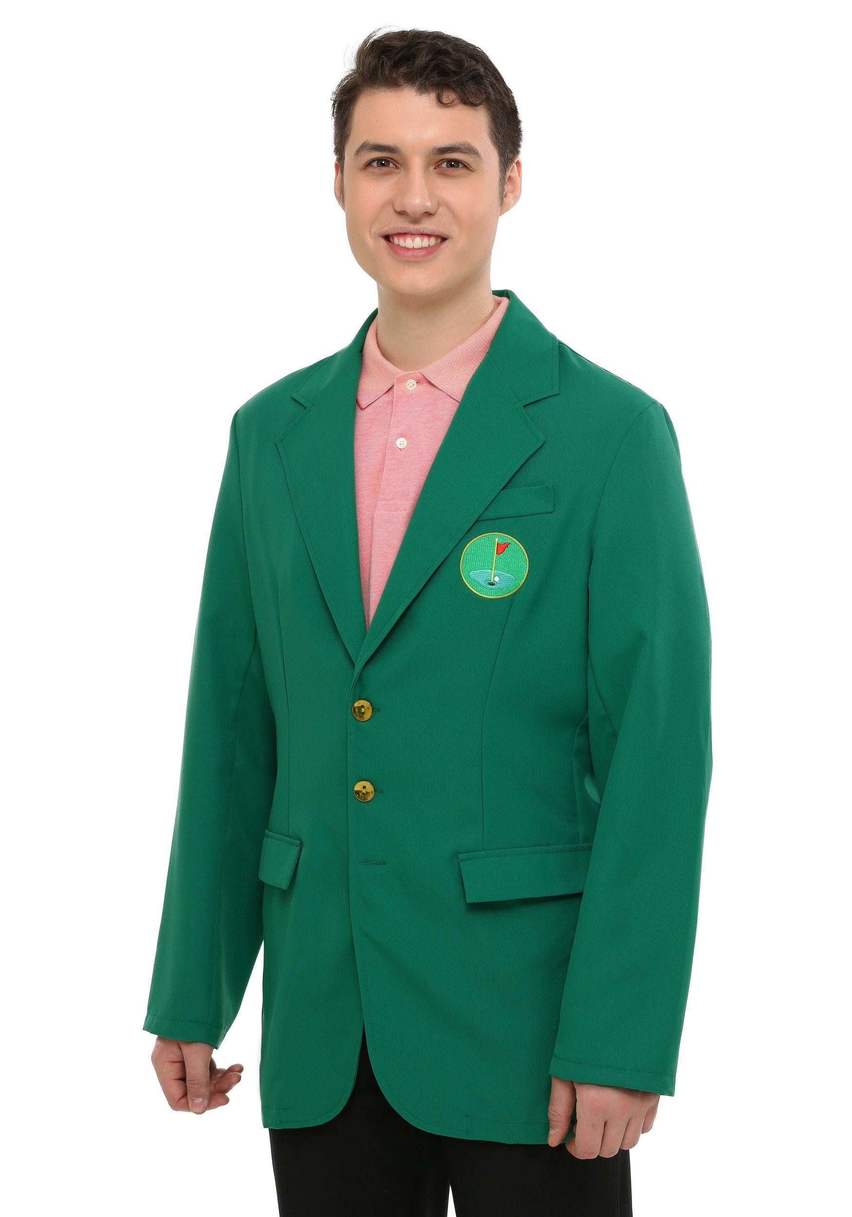 Adult Plus Sized Golf Green Champion Jacket
