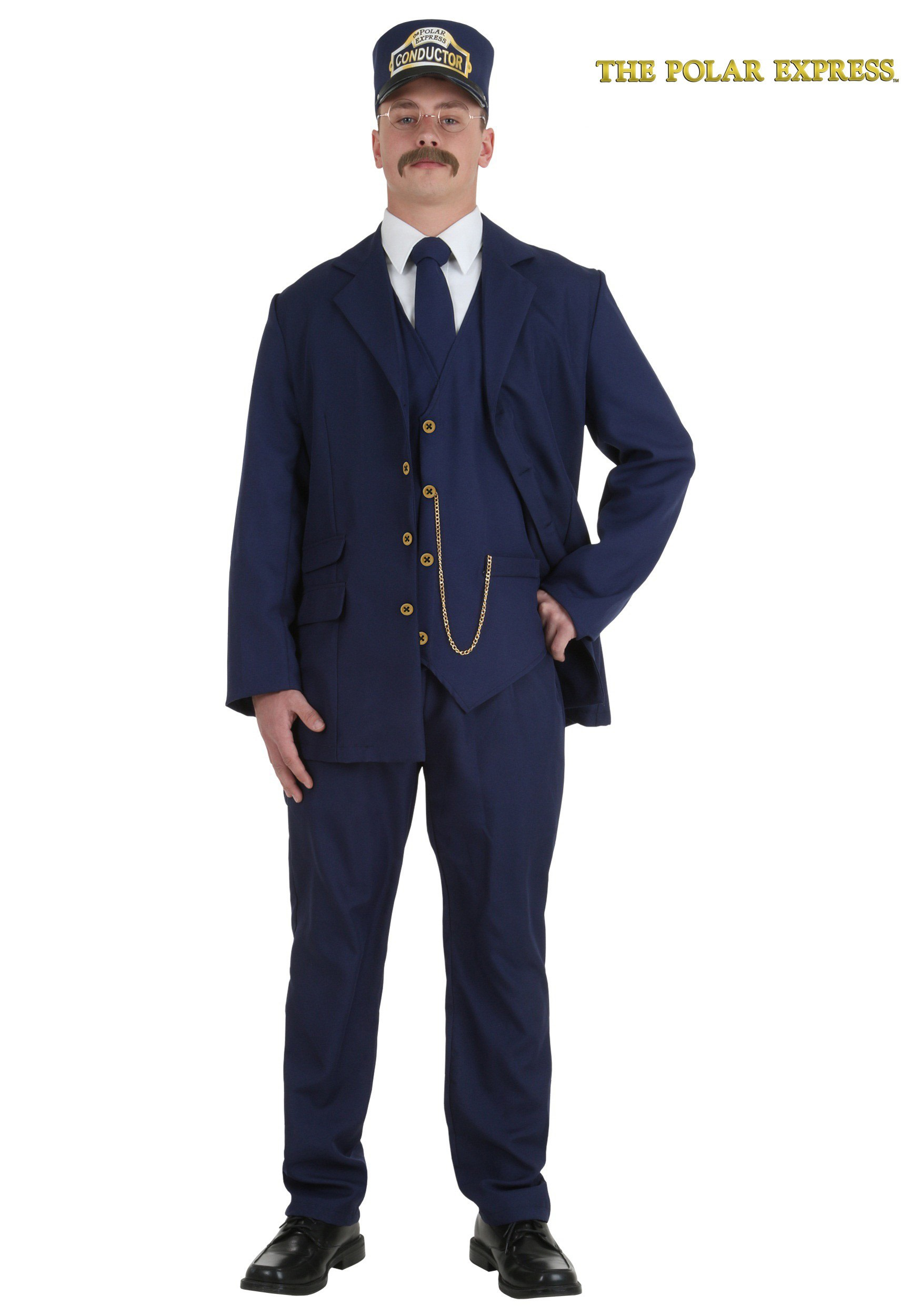 Adult Polar Express Conductor Costume