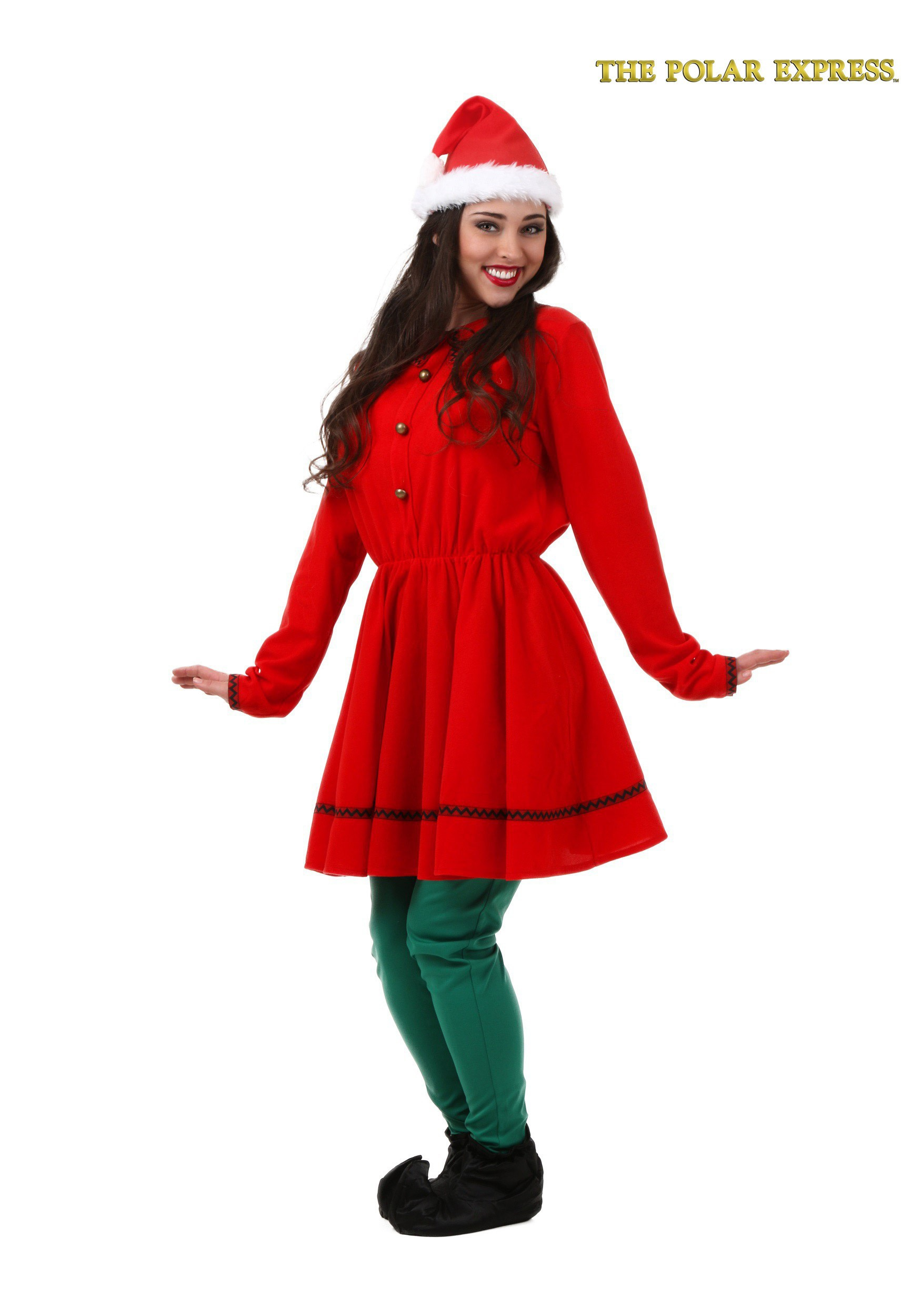 Adult Polar Express Elf Costume