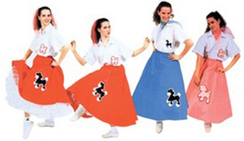 Adult Poodle Skirt Costume