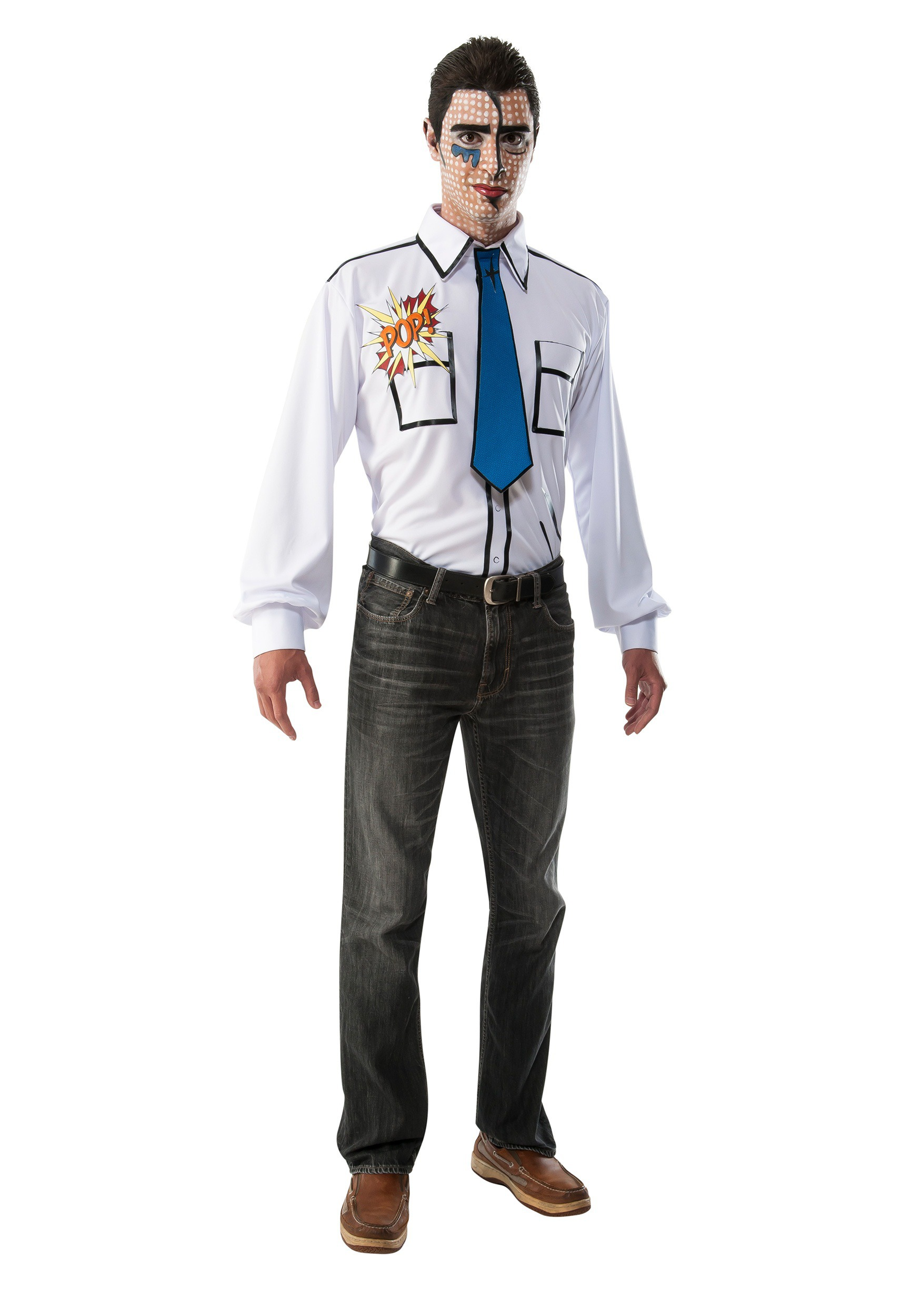 Adult Pop Art Gentleman Costume