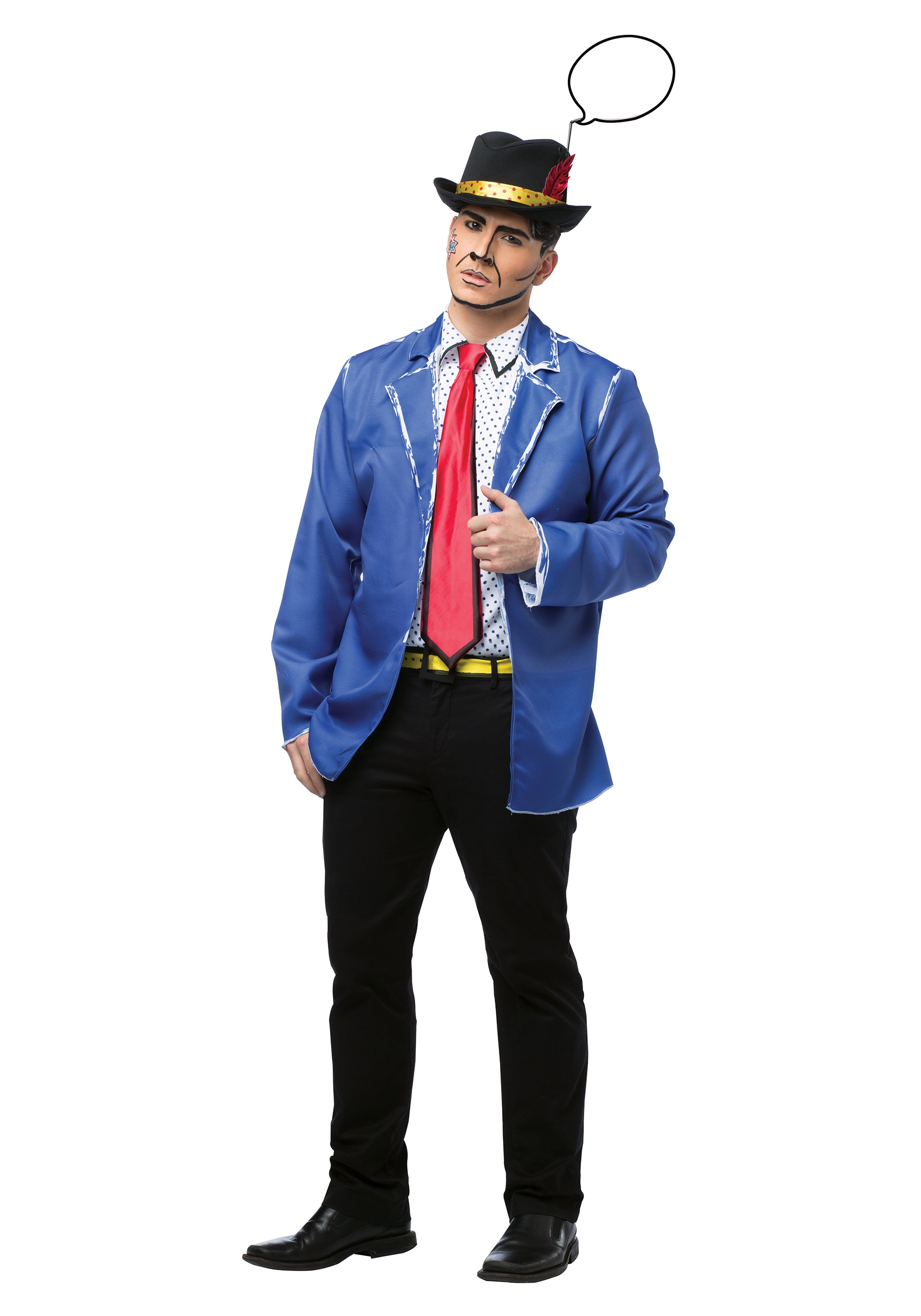Adult Pop Art Guy Costume