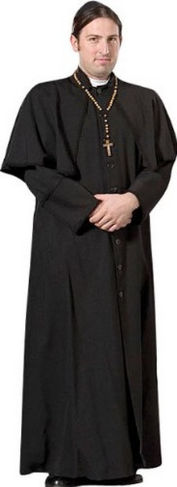 Adult Priest Costume ? Black