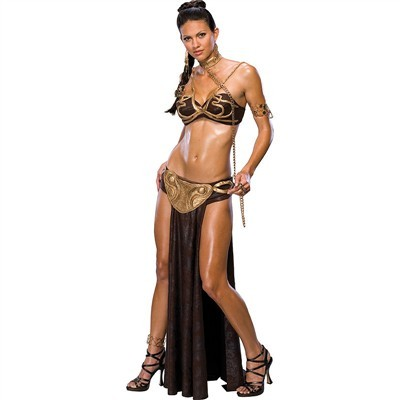 Adult Princess Leia Slave Outfit Costume