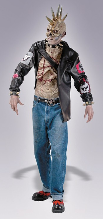 Adult Punk Zombie Costume