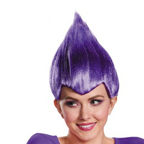 Adult Purple Troll Wig
