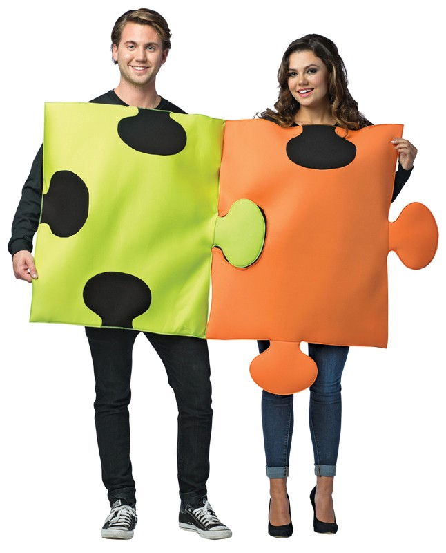 Adult Puzzle Pieces Costume