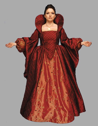 Adult Queen Elizabeth Costume