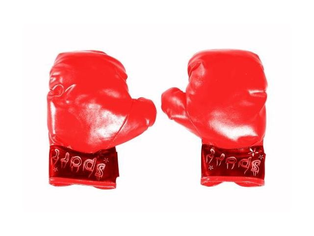 Adult Red Boxing Gloves