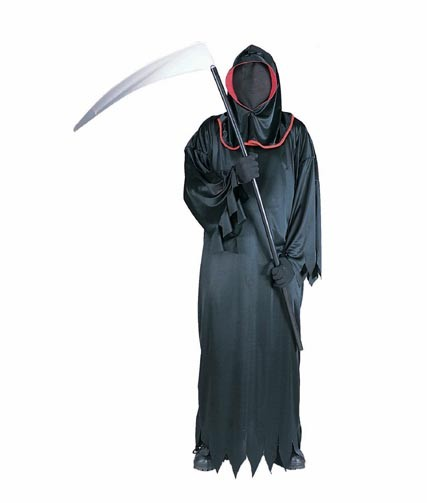 Adult Red Grim Reaper Costume
