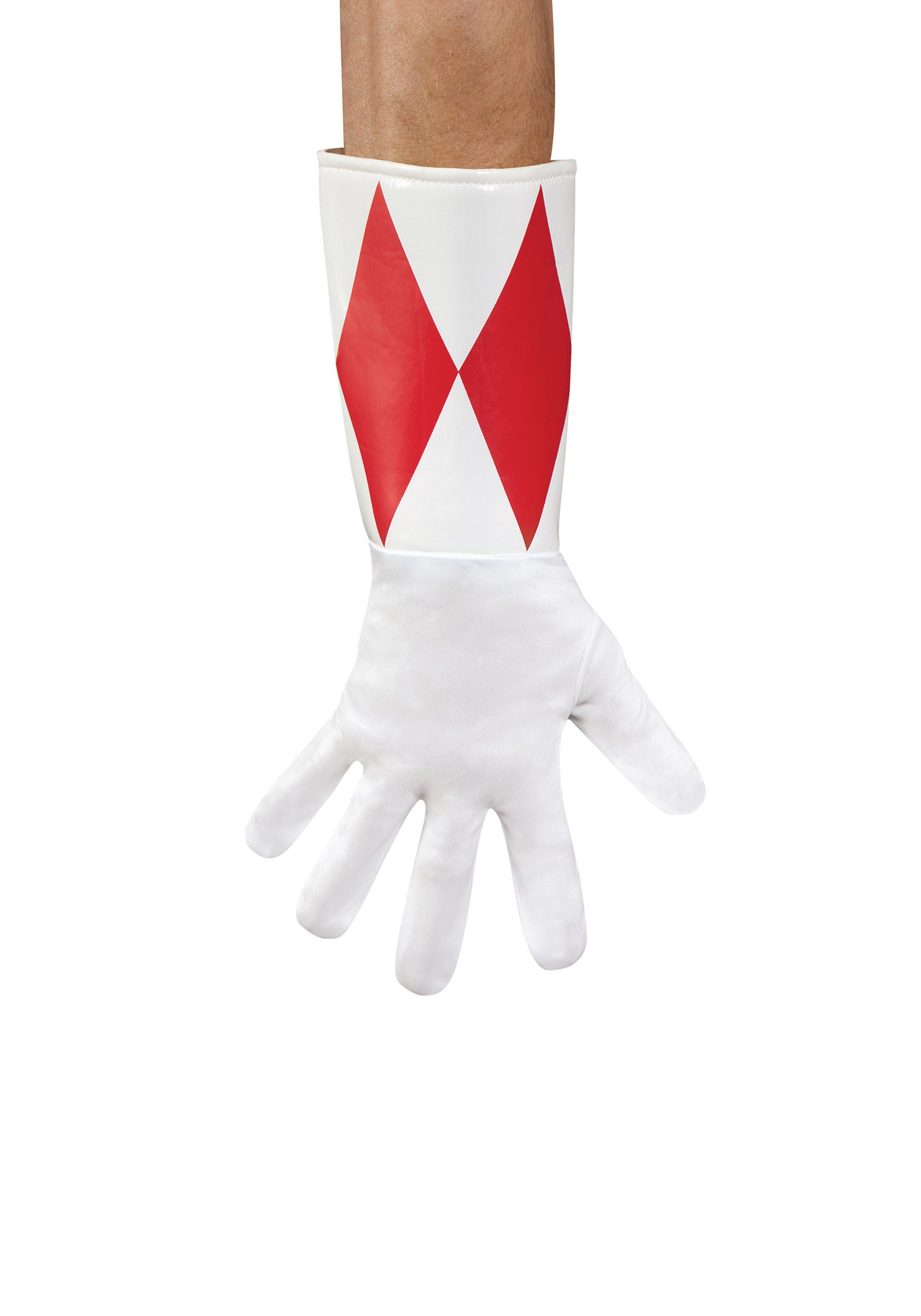 Adult Red Ranger Gloves