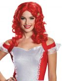 Adult Red Strawberry Shortcake Wig