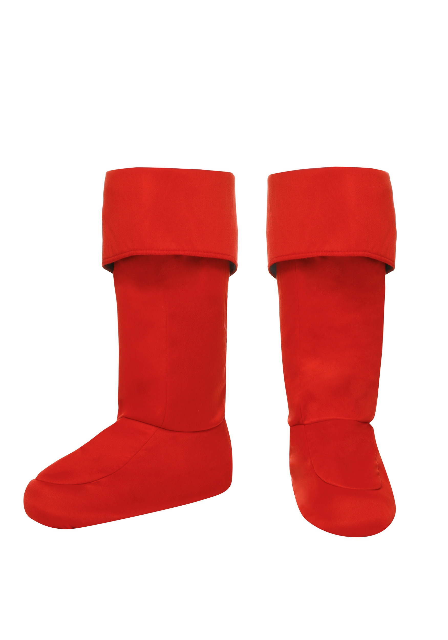 Adult Red Superhero Boot Covers