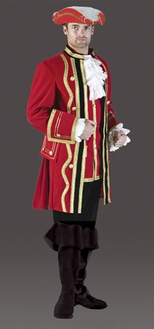 Adult Redcoat Costume