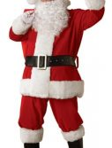 Adult Regal Plush Santa Costume