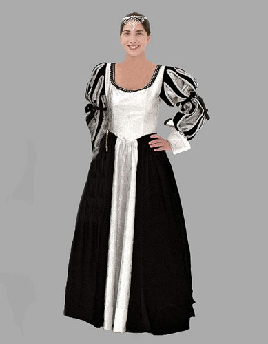 Adult Renaissance Lady Costume ? Black