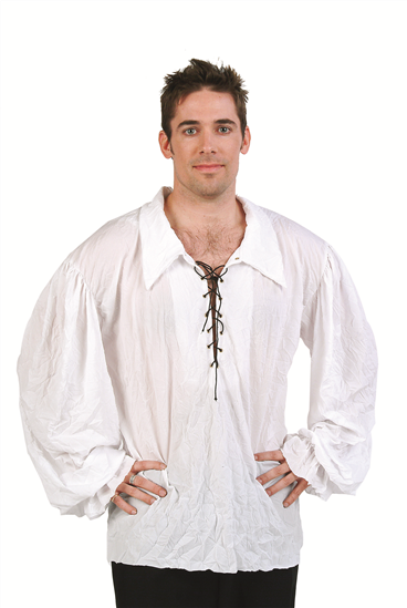 Adult Renaissance Shirt - White