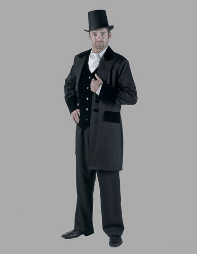 Adult Rhett Butler Costume Black