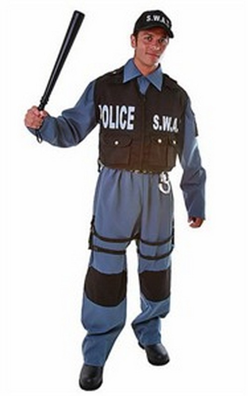 Adult SWAT Costume