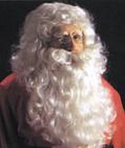 Adult Santa Wig and Beard Costume
