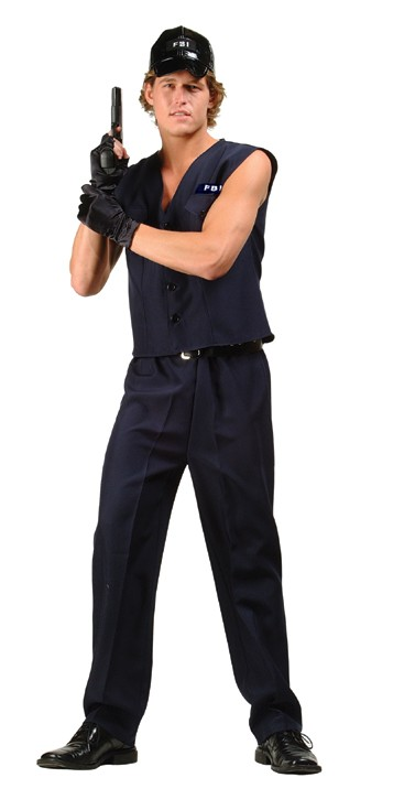 Adult Secret Agent Man Costume