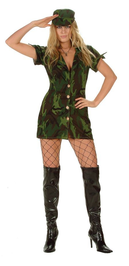 Adult Sexy Army Costume