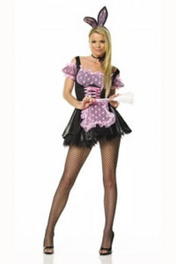 Adult Sexy Bunny French Maid Costume