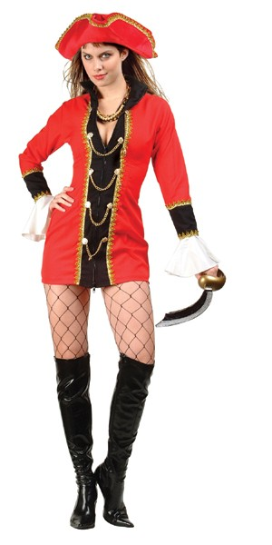 Adult Sexy Captain's Treasure Costume