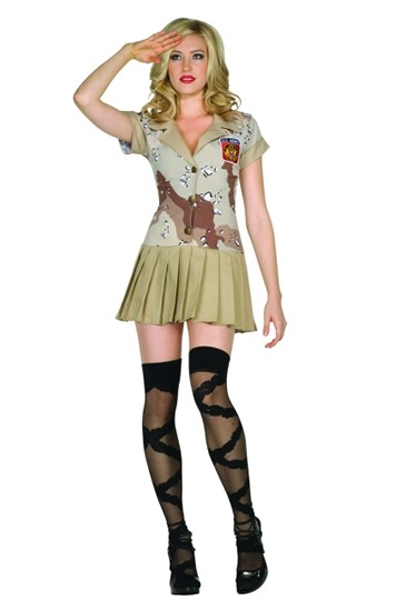 Adult Sexy Commando Cutie Costume