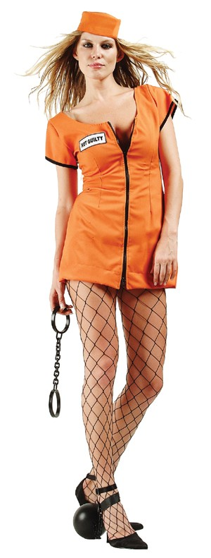 Adult Sexy Convict Costume