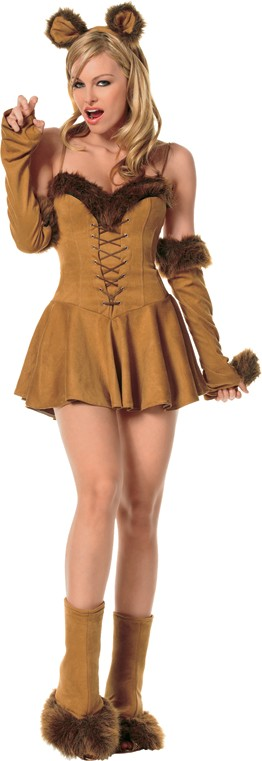 Adult Sexy Cuddly Lion Costume