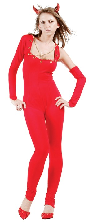Adult Sexy Devil Jumpsuit