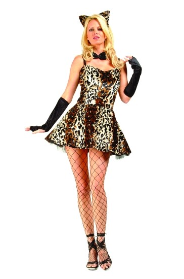 Adult Sexy Leopard Costume