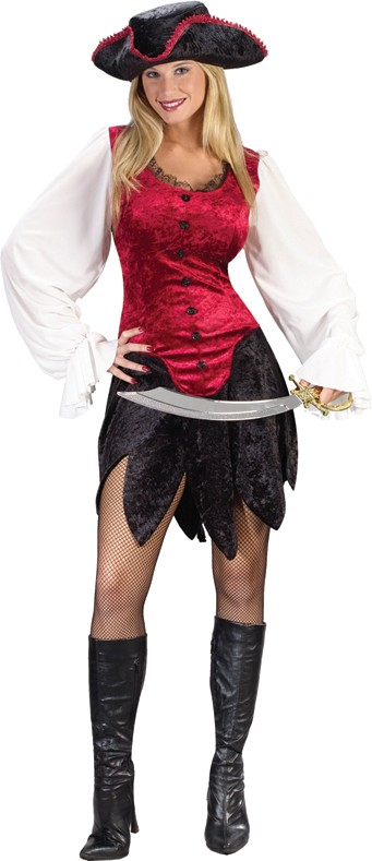 Adult Sexy Pirate Lady Costume