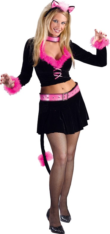 Adult Sexy Purr-fect Lady Costume