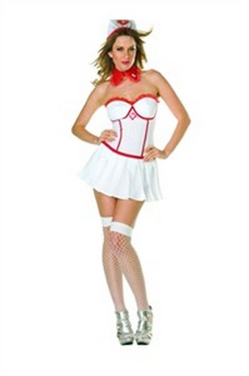 Adult Sexy Rising Temperature Nurse Costume