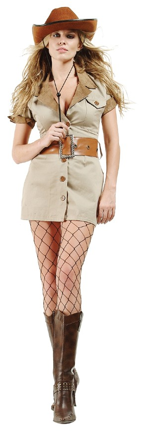 Adult Sexy Safari Costume