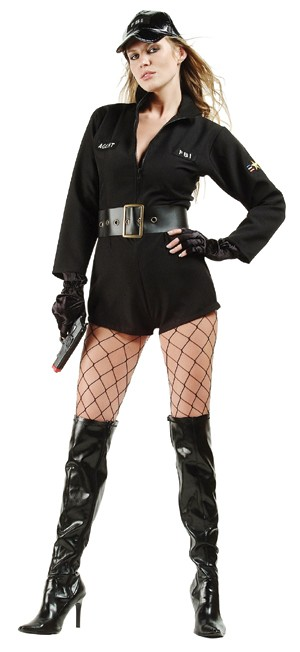 Adult Sexy Secret Agent Costume