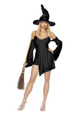 Adult Sexy Witch Dress Costume