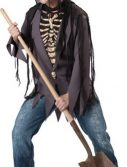 Adult Skeleton Costume - Grave Robber
