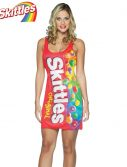 Adult Skittles Costume Dress