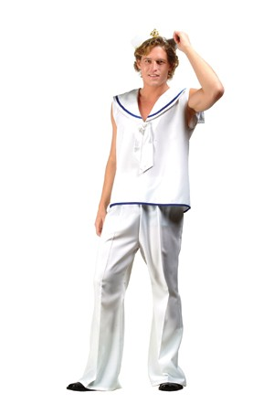 Adult Sleeveless Sailor Costume