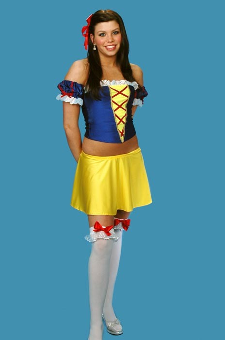 Adult Snow White Costume (tube top)