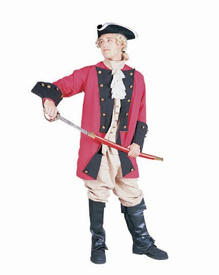 Adult Soldier Revolutionary War Costume
