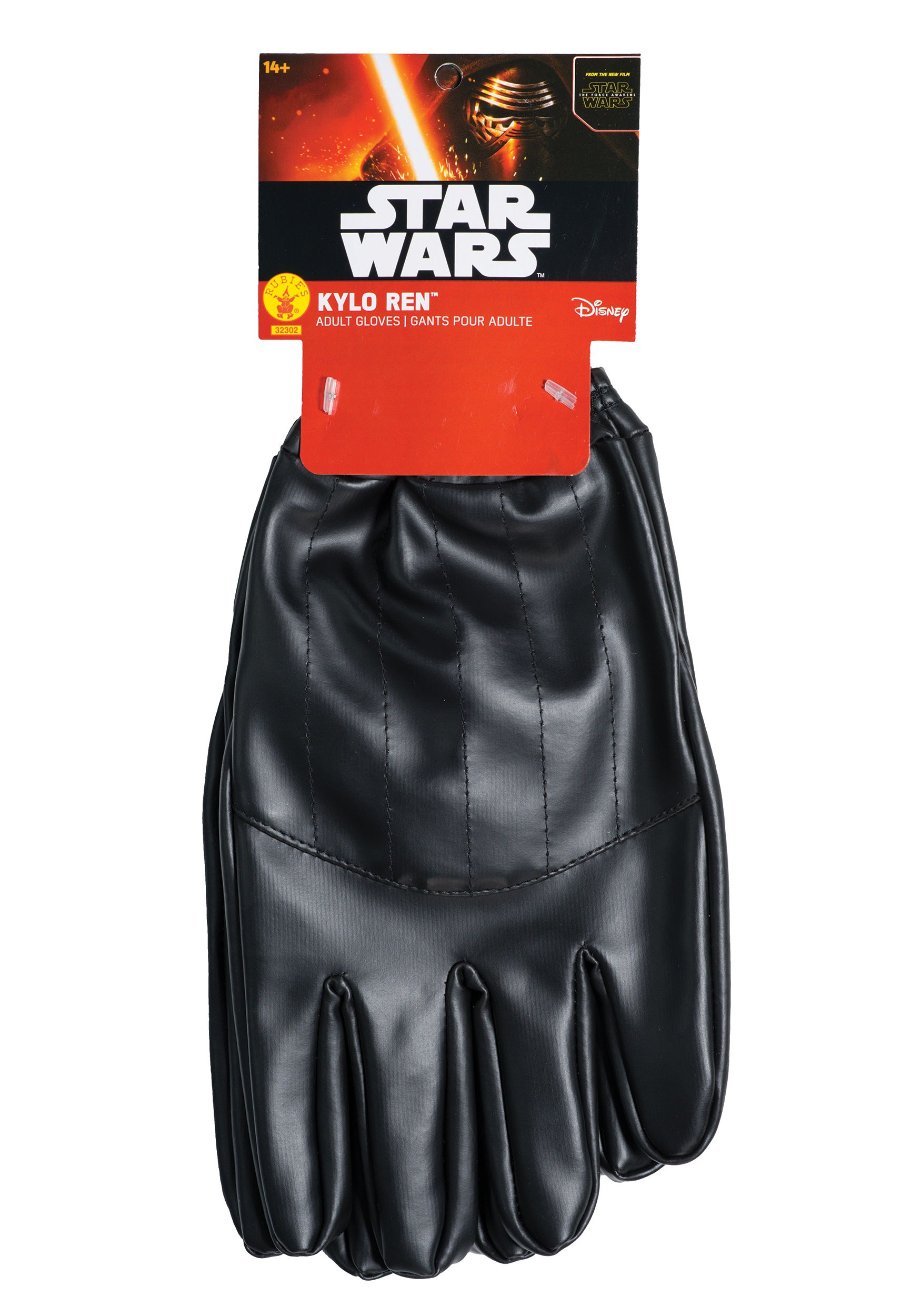 Adult Star Wars The Force Awakens Kylo Ren Gloves